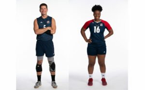 Paralympic athletes Eric Duda and Nicky Nieves