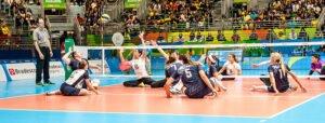 Heather Erickson attacks vs Brazil at 2016 Paralympics