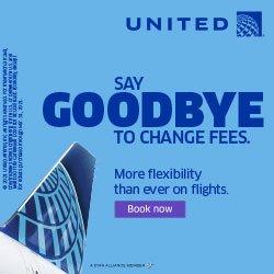 United Goodbye to Change Fees
