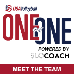 USA Volleyball One on One powered by SloCoach Meet the Team