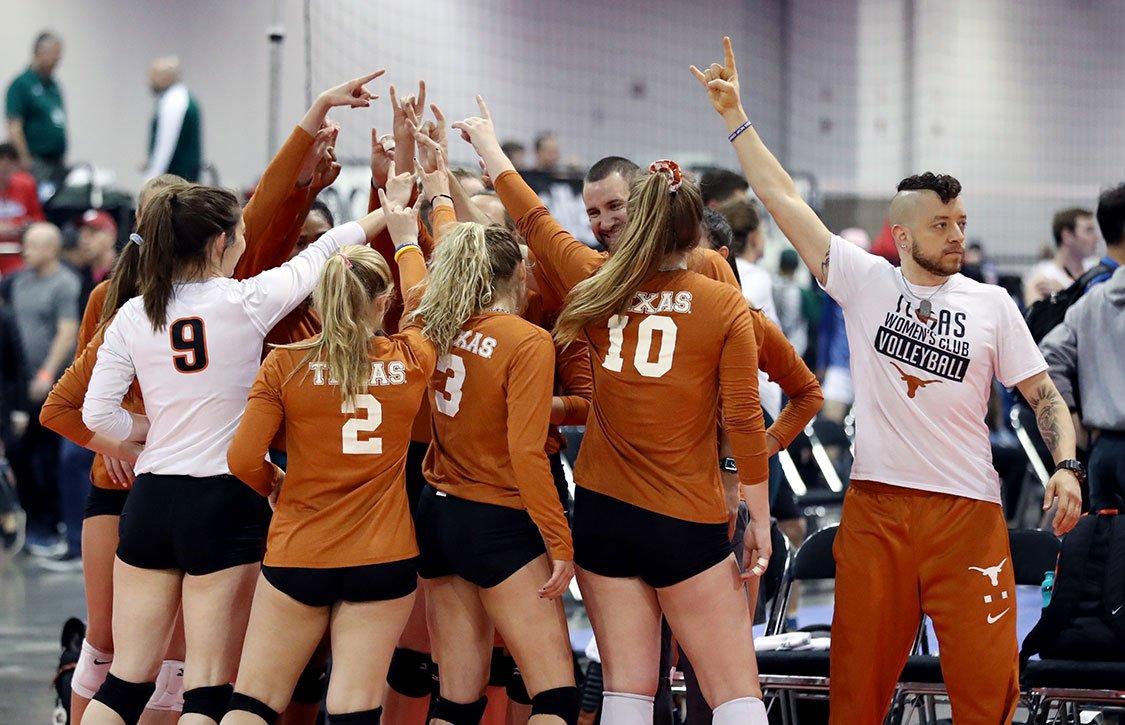 College women's volleyball team