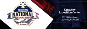 2021 Collegiate National Championship.