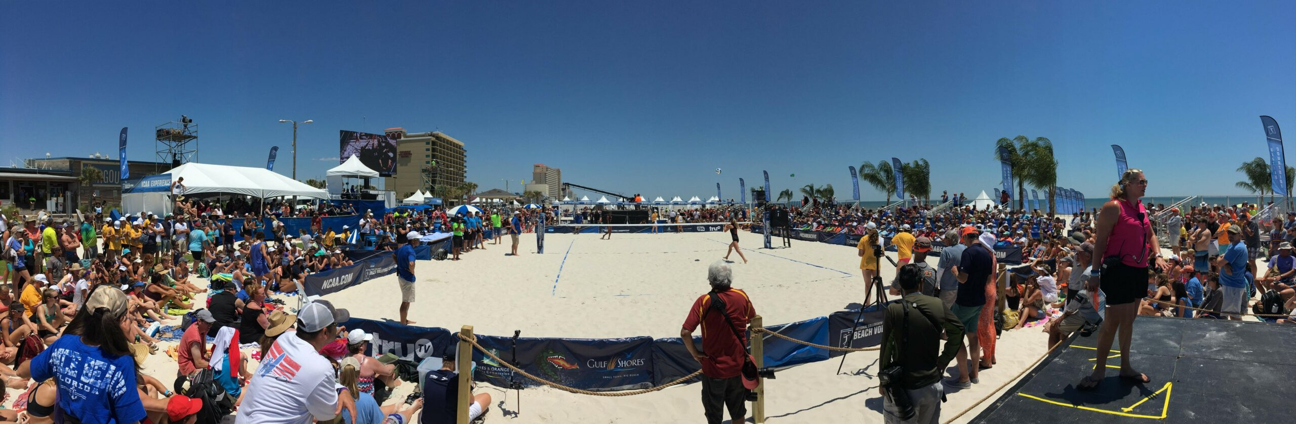 Gulf Shores has hosted every NCAA Beach Volleyball National Championship since the tournament was created