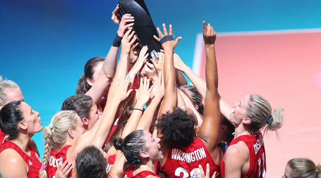 After Long Break, U.S. Women are Back to Defend VNL Title