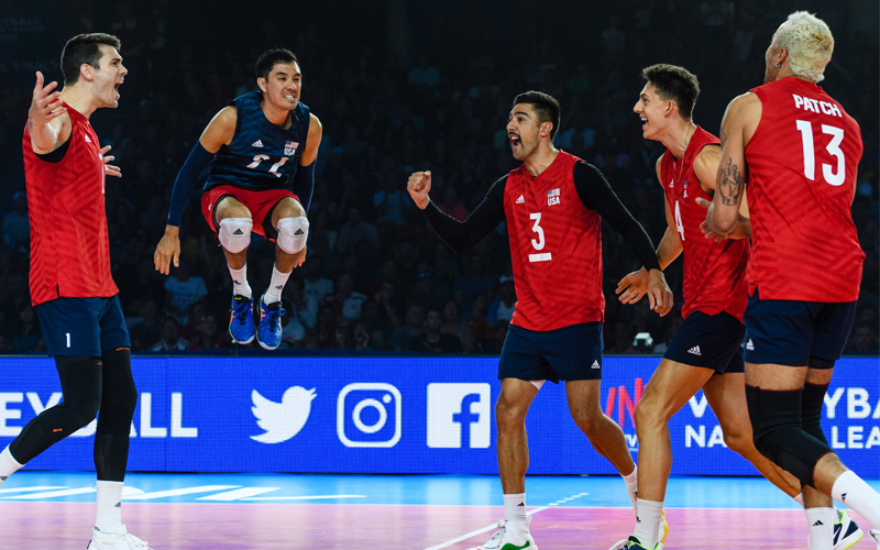 Experienced U.S. Men's Roster Ready to Compete for Another VNL Podium Finish