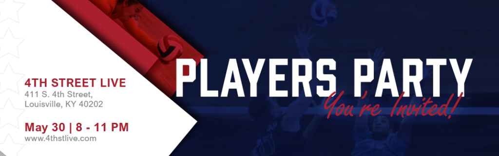 Opens Player Party May 30 8-11 p.m. 4th Street Live