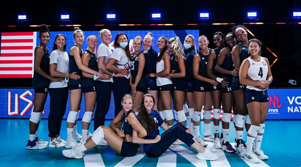 U.S. Women Hold Steady to Stop Belgium's Surge at VNL