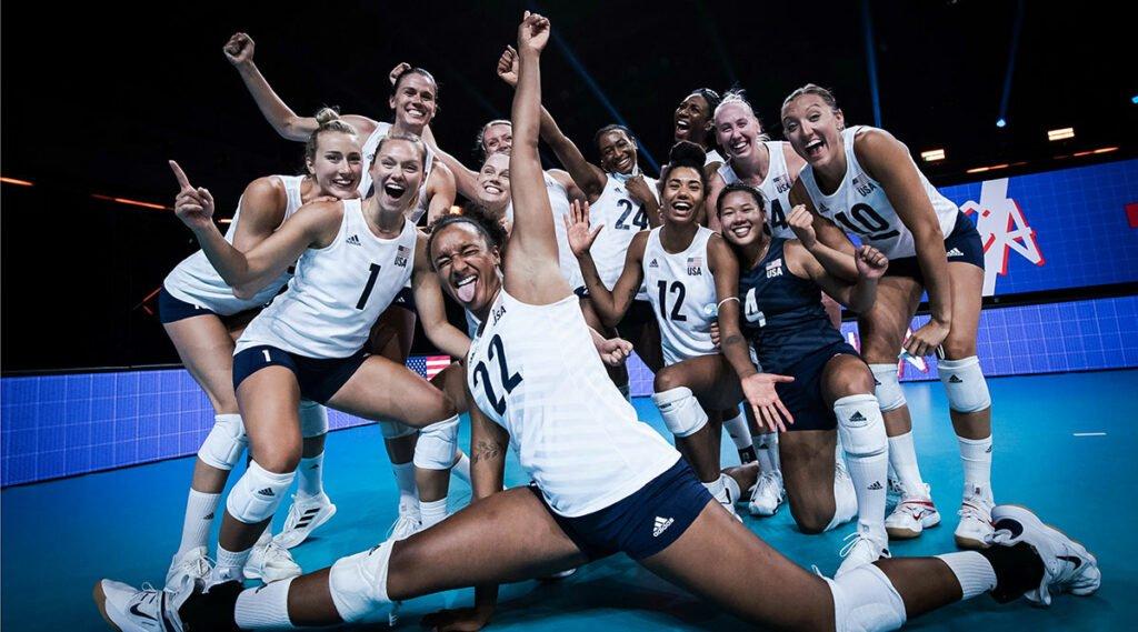 U.S. Women Headed to VNL Finals against Brazil