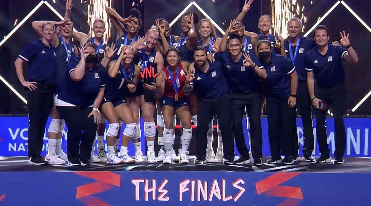 U.S. Women Win VNL