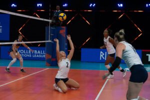 U.S. Women's National Team competes