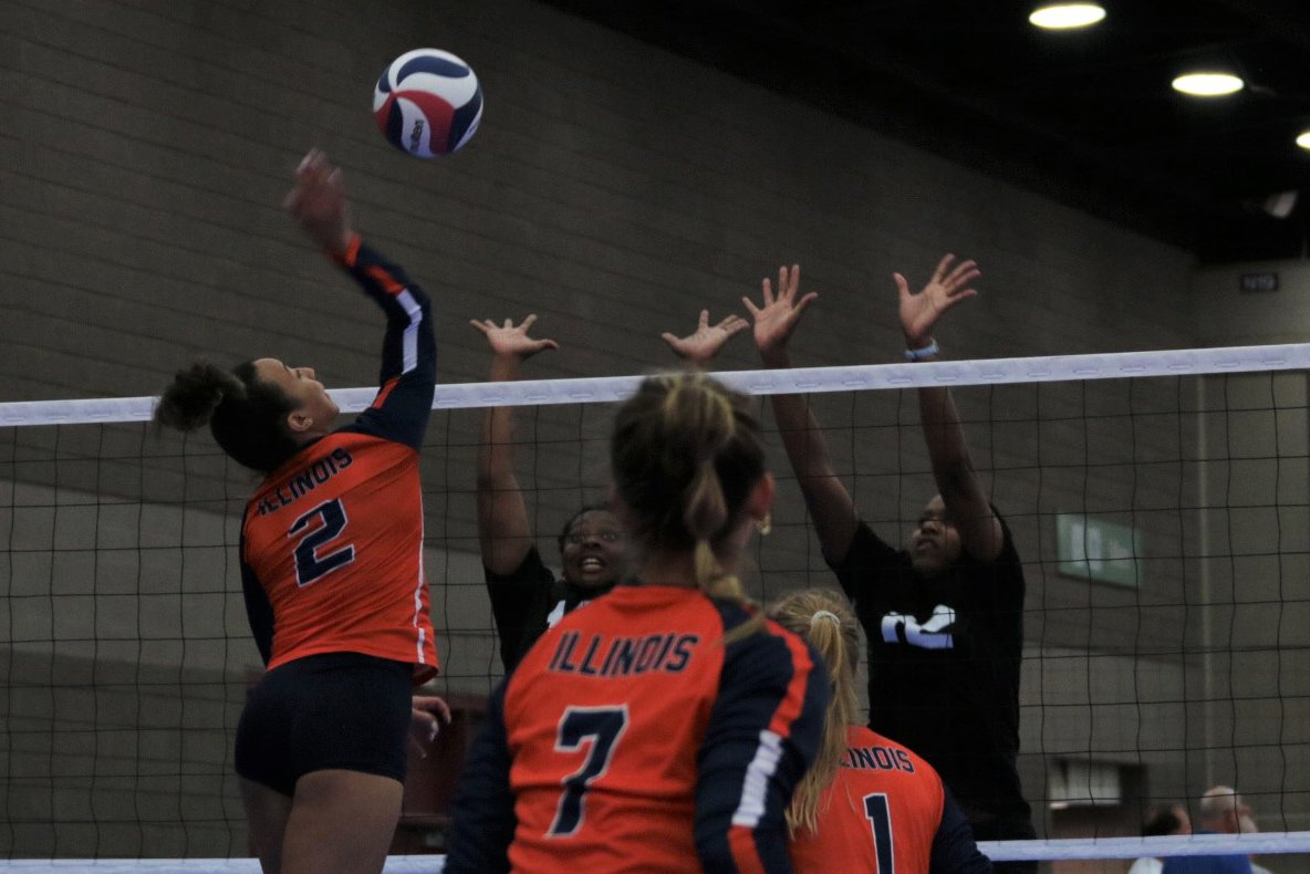 2021 USA Volleyball Open National Championship players up for the block