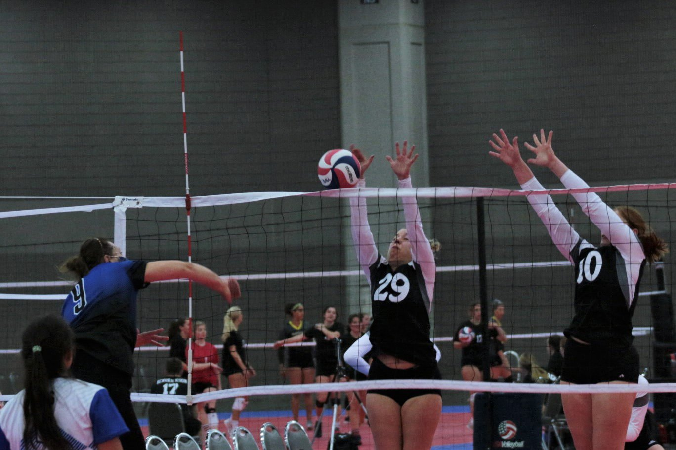 2021 USA Volleyball Open National Championship women up for the block