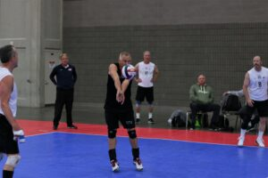 2021 USA Volleyball Open National Championship man passing