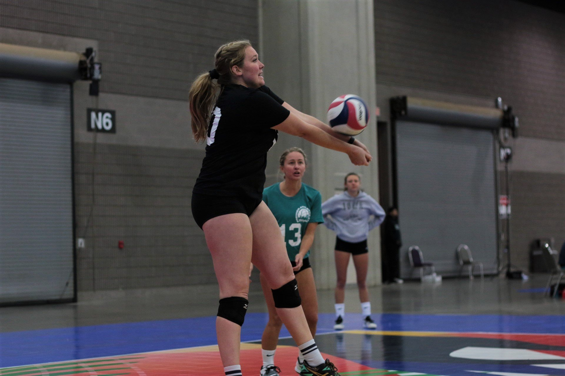 2021 USA Volleyball Open National Championship woman passing