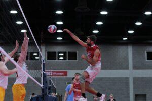 2021 USA Volleyball Open National Championship man hitting