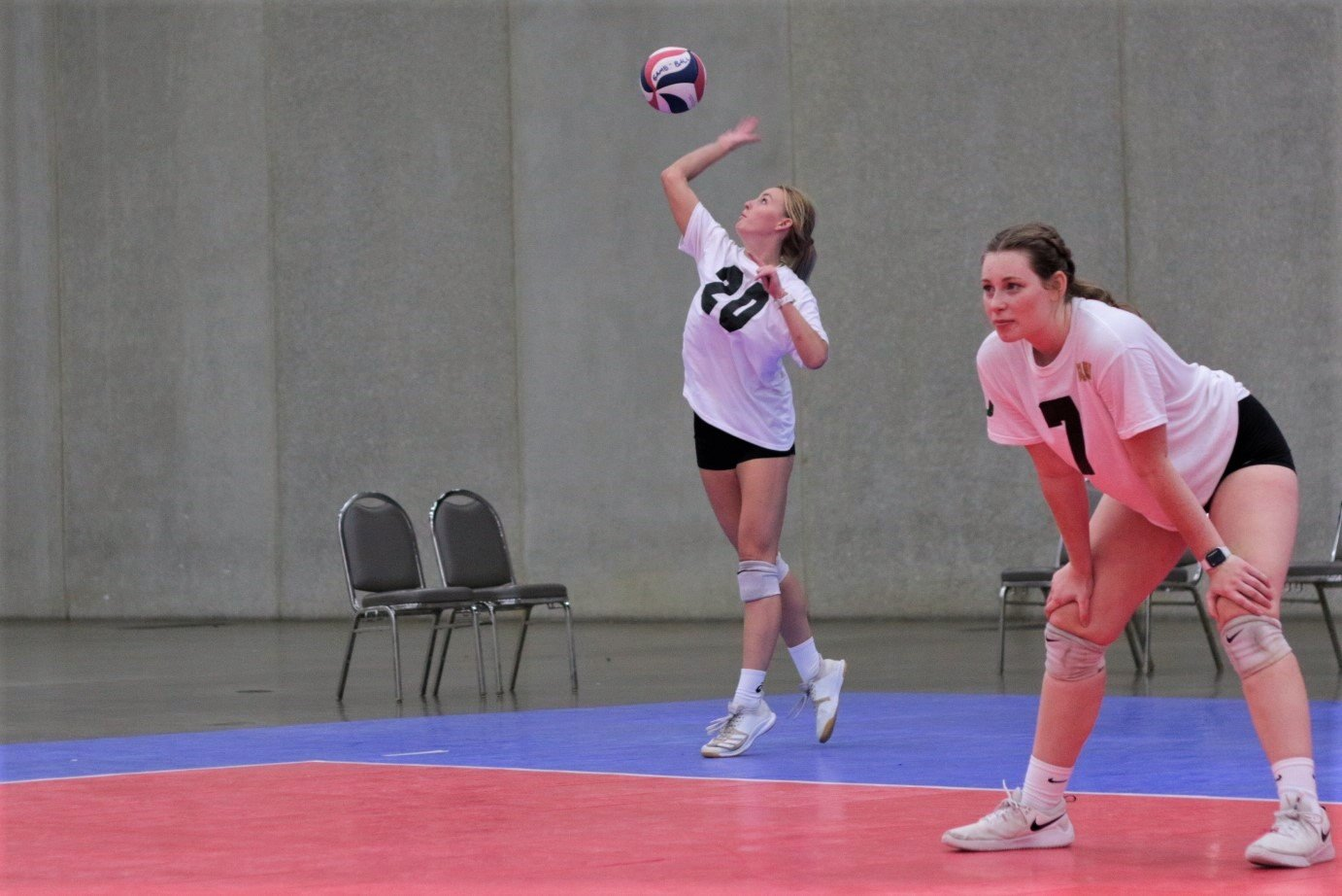 2021 USA Volleyball Open National Championship woman serving