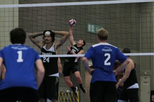 2021 USA Volleyball Open National Championship man serving