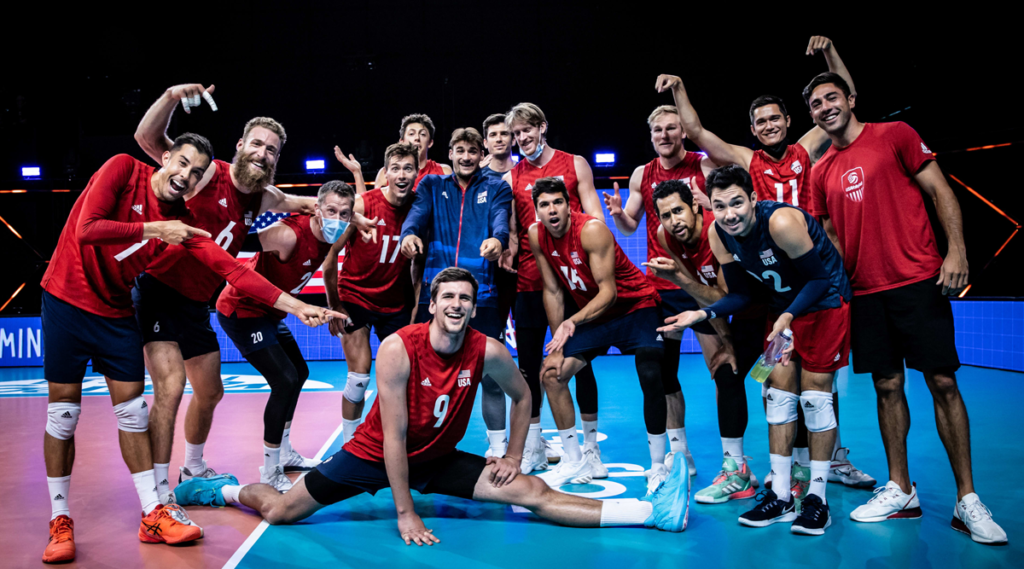 U.S. Men Rebound Strong and Sweep Bulgaria at VNL