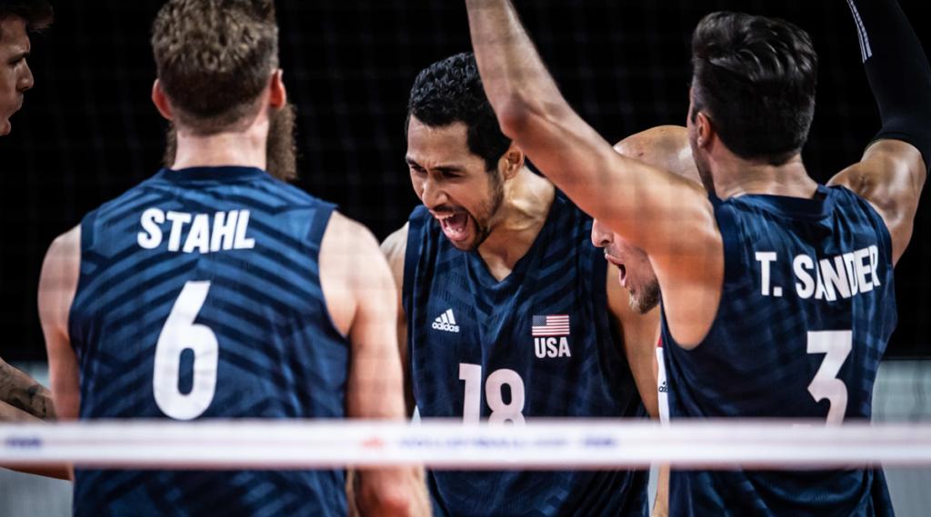 The U.S. Men Win Five Thriller Against the Netherlands at VNL
