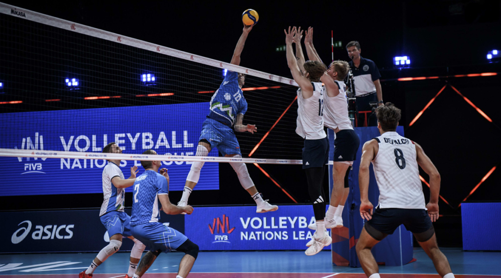 U.S. Men Battle but Fall to Slovenia in Five at VNL