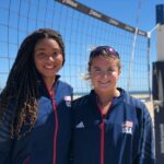Xolani Hodel and Kate Reilly