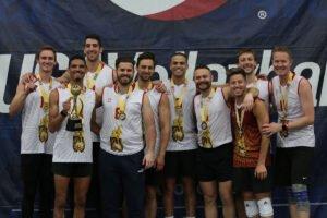 2021 USA Volleyball Open National Championship podium shot