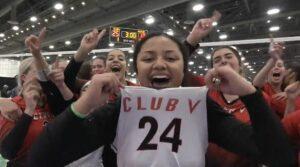 Club V celebrating