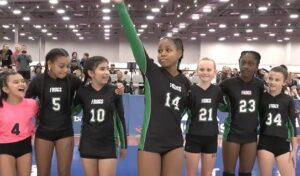 GJNC MadFrog teams introduction girl waving