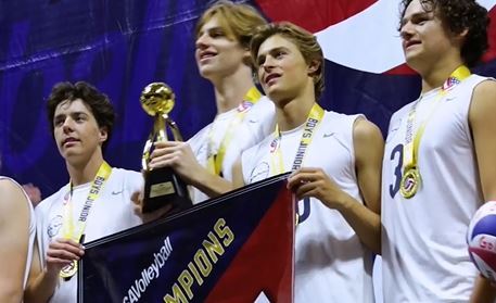 Boys with trophy