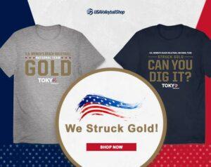 T- shirt We Struck Gold