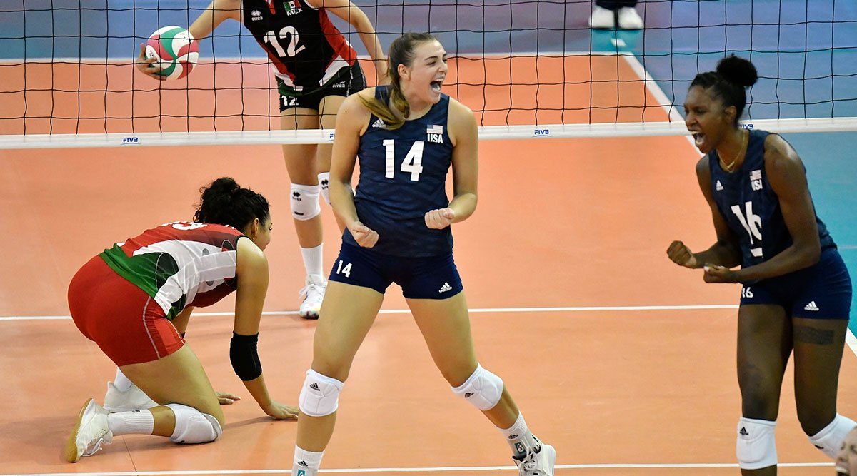 U.S. Women's National Team competing at Pan Am Cup