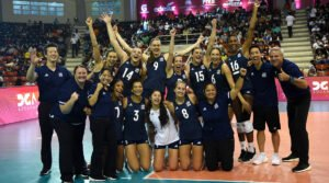 U.S. Women celebrate at the Pan Am Cup