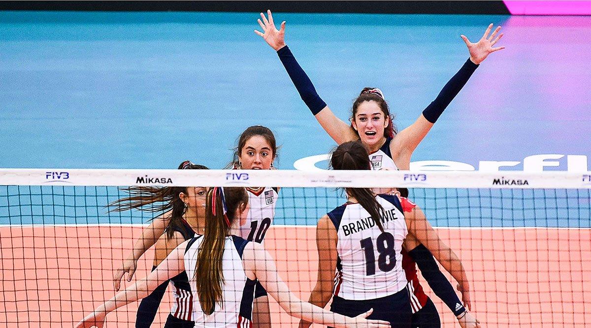 U.S. Girls U18 Team competes at World Championship