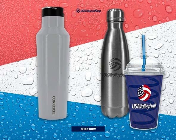 USA Volleyball drinkware